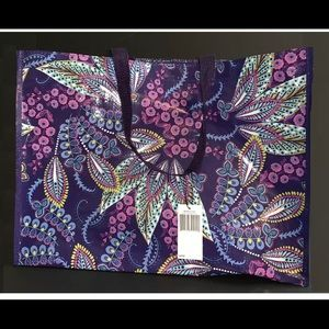 NWT Vera Bradley Reusable Market Tote Batik Leaves